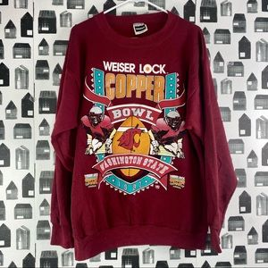 Tultex | Vintage Oversized Graphic Sweatshirt